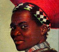 Sulu woman in traditional head dress