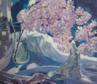 cherry blossom stillife