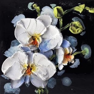 Nicoletta Belletti Orchid in the Shadows 31.5 x 31.5
