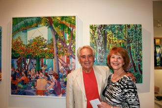 EWFA Artist Fred and wife Dee Dee Nold