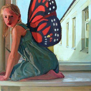 Nick Kosciuk Butterfly Wings No.3 30 x 40