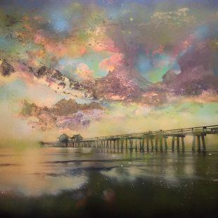 Viktorija Bulava Purple Sunset 40 x 60