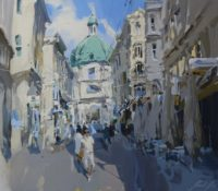 sunny venetian street