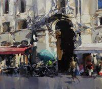 italian city scene