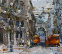 busy milan street