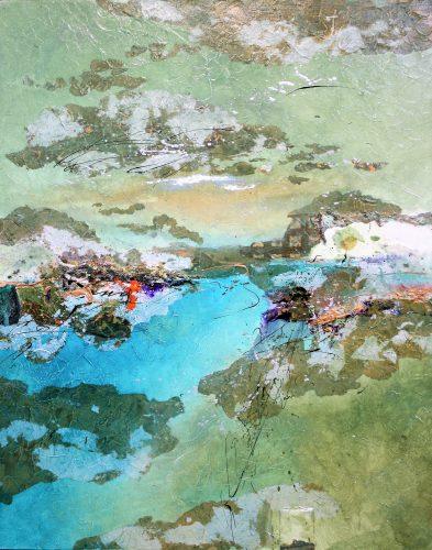 Joanne Rafferty Serene Deep #8 30 x 24
