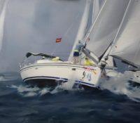 racing sail boats