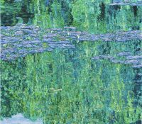 willows and lilies
