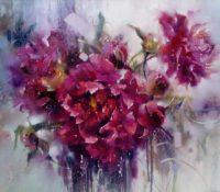 purple gardenias