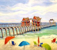 beach and pier