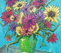 sunflower stillife
